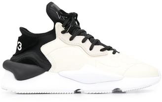 Y-3 Kaiwa two-tone sneakers
