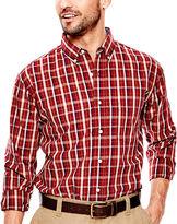Haggar Long-Sleeve Poplin Shirt
