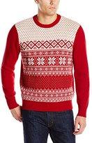Dockers Snowflake Crew-Neck Sweater