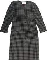 Christian Dior Grey Wool Skirts