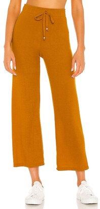 DONNI Sweater Cropped Flare Sweatpant