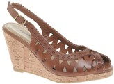 Chinese Laundry Leather Come Together Wedge Sandals