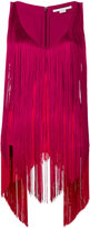 Stella McCartney fringed Mabel top - women - Silk/Spandex/Elastane/Acetate/Viscose - 38