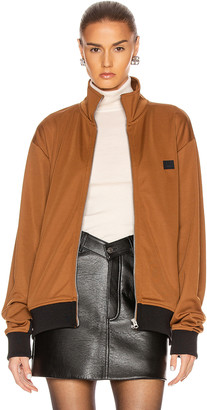 Acne Studios Face Jacket in Caramel Brown | FWRD