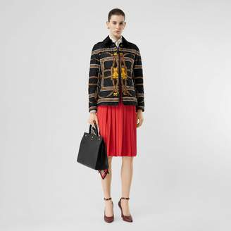Burberry Archive Scarf Print Diamond Quited Jacket