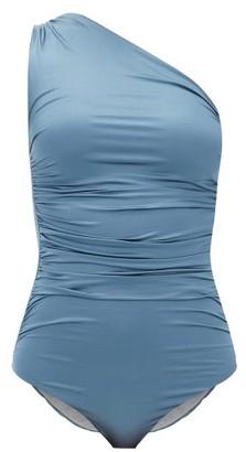 Max Mara Beachwear - Bimba Swimsuit - Womens - Dark Blue