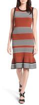 Halogen Stitch Stripe Sweater Dress (Regular & Petite)