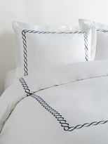 Melange Home Rope Embroidered Duvet Set