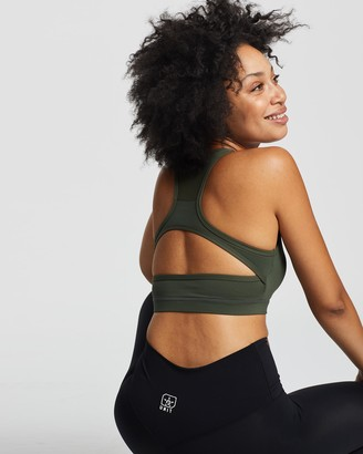Unit Women's Crop Tops - Control Strap Sports Bra - Size One Size, 6 at The Iconic
