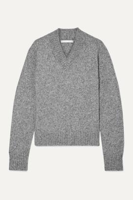 Helmut Lang Melange Knitted Sweater - Gray