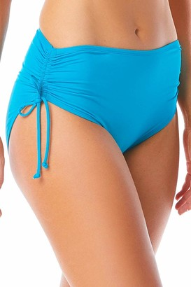 BEACH HOUSE SPORT Women's Hayden High Waisted Bikini Swimsuit Bottom with Adjustable Side Ties