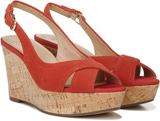 Naturalizer Slingback Wedge Sandals - Zander