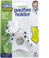 Baby Buddy Universal Pacifier Holder, Black-Grey Dots by