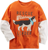 Carter's Little Boys' Graphic-Print T-Shirt