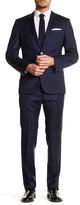 HUGO BOSS Hutson/Gander Two Button Notch Lapel Trim Fit Wool Suit