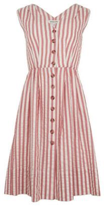 Emily And Fin Scarlett Rivera Stripe Dress - 16