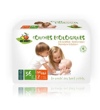 Bio Babby Eco Diapers MINI - 216 Diapers