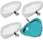 H2O Pad-by goLEDgo 7 X 4- Pads that fit H2o, Steamboy Microfiber Steam Mop