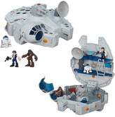Hasbro Star Wars Galactic Heroes Millennium Falcon with Mini Figures Play Set