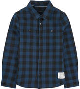 Ikks Checked flannel shirt