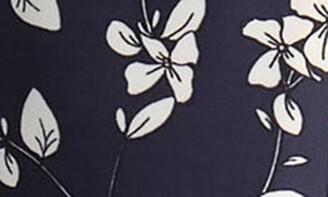 Donna Ricco Floral Print V-Neck Sleeveless Dress
