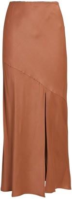 Andamane Eve Slit Midi Skirt