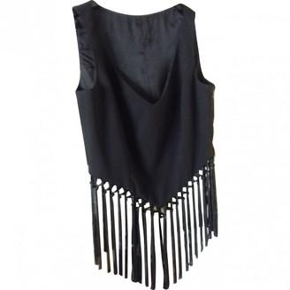 Escada Black Wool Top for Women Vintage