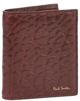 Paul Smith Accessories Textured Leather Bifold Wallet