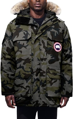 Canada Goose Expedition Extreme Weather 625 Fill Power Down Parka with Genuine Coyote Fur Trim
