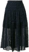 Chloé - layered lace skirt