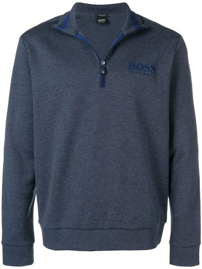 HUGO BOSS zipped sweatshirt