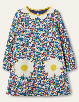 Boden Cosy Floral Applique Dress
