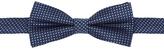 Oxford Bowtie Silk Spots Blue