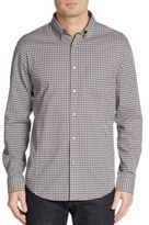 John Varvatos Regular-Fit Checked Cotton Sportshirt