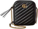 Gucci Marmont Gg Mini Leather Shoulder Bag