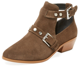 Rebecca Minkoff Abigail Double Buckle Leather Bootie