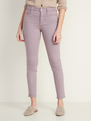 Old Navy High-Waisted Built-In Warm Pop-Color Rockstar Jeans for Women