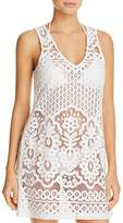 J Valdi Pina Colada Lace Dress Swim Cover-Up