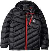 Spyder Dolomite Hoodie Synthetic Down Jacket Boy's Coat