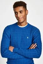 Jack Wills Marlow Cable Crew Neck Jumper