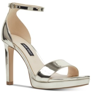 Nine West Women's Edyn Ankle Strap Platform Sandals Women's Shoes