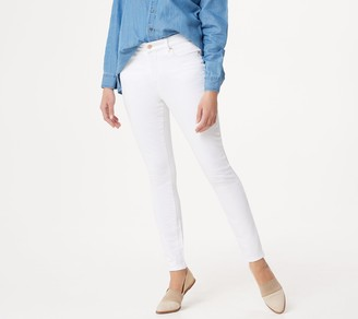 Martha Stewart Tall Colored Denim Ankle Jeans