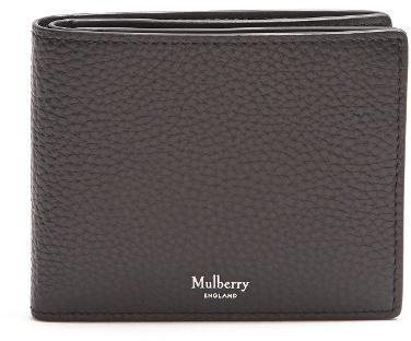 Mulberry Bi-fold leather wallet