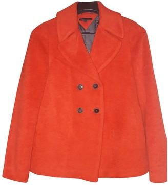 Tommy Hilfiger Orange Wool Jacket for Women