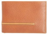 Tommy Bahama Men's Leather L-Fold Wallet - Brown