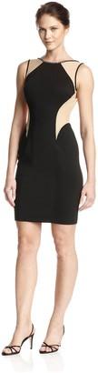 Terani Couture Women's Illusion Sheath Dress