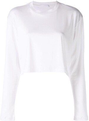 Wardrobe NYC Release 03 long sleeve cropped T-shirt
