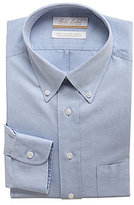 Roundtree & Yorke Gold Label Non-Iron Regular Full-Fit Button-Down Collar Solid Dress Shirt