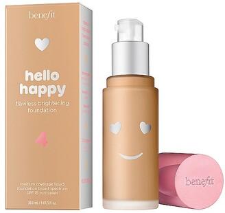 Benefit Cosmetics Hello Happy Flawless Brightening Liquid Foundation