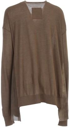 UMA WANG Long Sleeve Knit Sweater